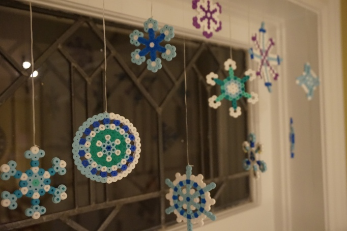 homemade snowflakes
