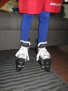 hockey legs